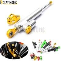 MT07 MT09 FZ MT 09 moto CNC Damper Steering Stabilizer Linear Reversed Safety Control Bike for CBR900 CBR 900 CBR954 CBR 954 02