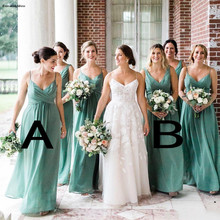 a17d4dd5c5 Buy bridesmaid dresses light green and get free shipping on ...