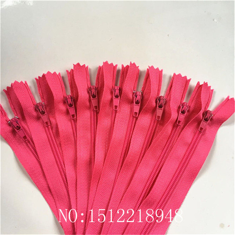 50pcs ( 20 Inch) 50cm Rose Nylon Coil Zippers Tailor Sewer Craft Crafter's &FGDQRS #3 Closed End