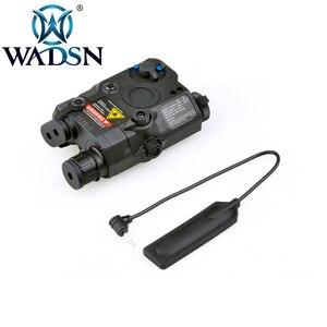 Image 3 - WADSN Airsoftพจนานุกรม 5 PEQ15 Red Dot IR Laser SightยุทธวิธีLA5C PEQ 15 อาวุธไฟฉาย 200 Lumenการล่าสัตว์armasสีขาวScout LIGHT