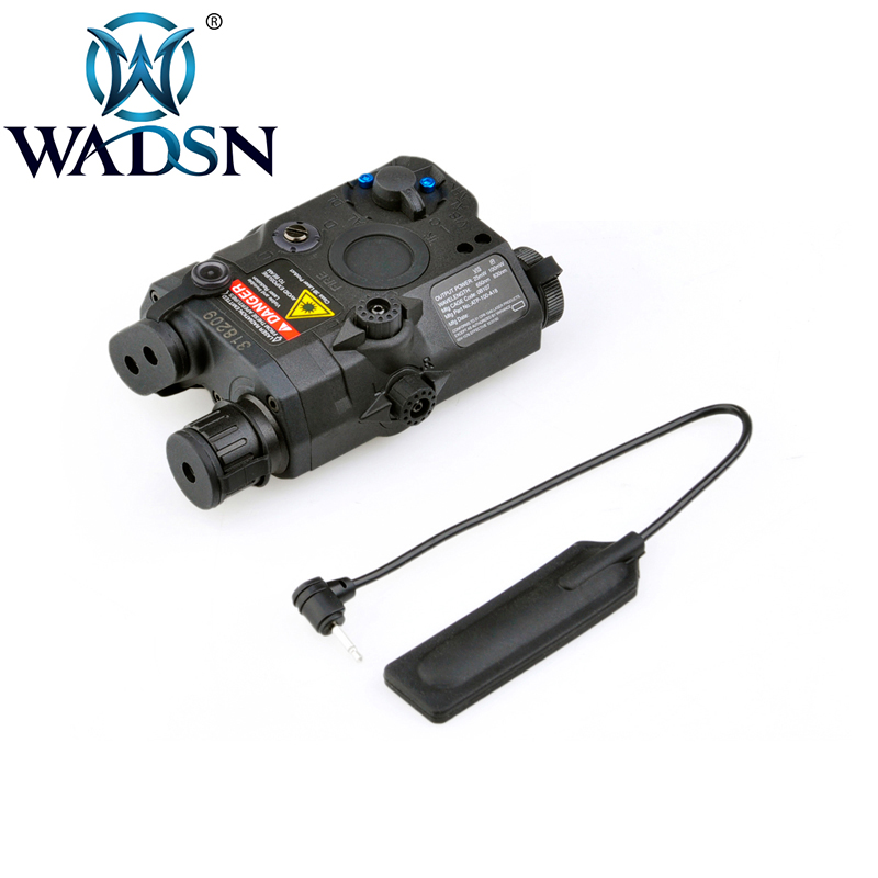 Image 2 - WADSN Airsoft LA PEQ15 Red Dot Laser Tactical light PEQ 15 IR Lazer Flashlight Combo Hunting softair Peq 15 Weapon Lights EX276-in Weapon Lights from Sports & Entertainment