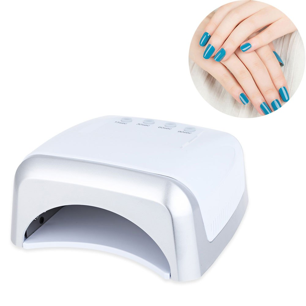 ФОТО Popular Design Nail Gel Lamp Professional Convenient 60W UV / LED Dual Purpose High Power Manicure LED Phototherapy