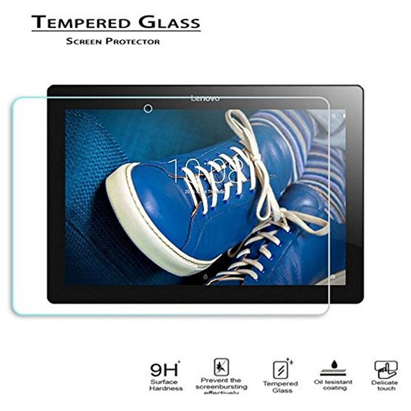 все цены на Tempered Glass Screen Protector For Lenovo Tab 2 A10-70F A10-70L A10-30F X30F TB3-X30F TAB 3 10 plus TB3-X70F X103F Tablet Glass онлайн