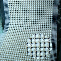 (CM794) 24 Rows 5 Yards Rhinestone Pearl Mesh Trim Wedding Decoration,Garment Accessories,Diamond Trim