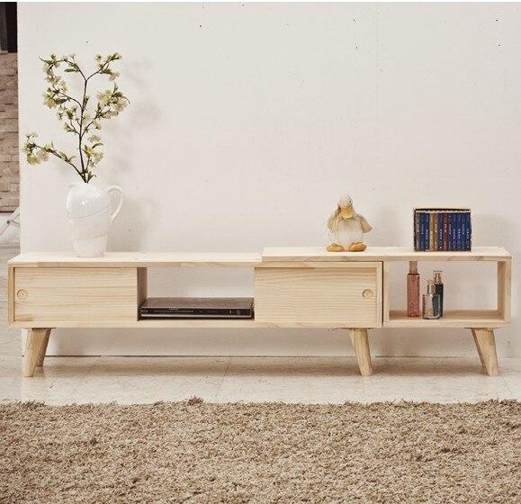 Nordic Ikea Solid Wood Tv Cabinet Minimalist Modern Small