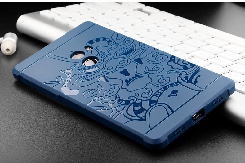 best website 85655 a38d6 US $4.69 6% OFF For Xiaomi Mi Mix Case Back Cover Anti knock Silicon Phone  Housing Shell For Xiaomi Mi Mix Capa Funda For Men Male on Aliexpress.com    ...