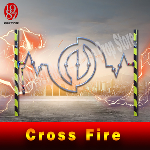 Image 3 - Room escape game puzzle Cross fire prop keep the metal ring crossing track to unlock anti cheating Iron ring slideway jxkj1987