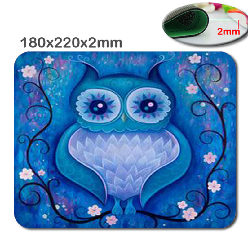 Custom Cute Super Popular The New 220*180*2mm Gaming Mouse Mat High Quality Non-Skid Rubber Computer And Laptop Mouse Pad