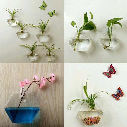 Hanging Glass Hydroponic Flower Plant Vase Terrarium Fish Pot DIY Home Decor