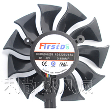 85mm Firstd FD9225U12S DC 12 V 0.48A 4Pin Lufter Ersatz Fur Sapphire HD5830 HD6870 6790 Graphics Grafikkarte Fan