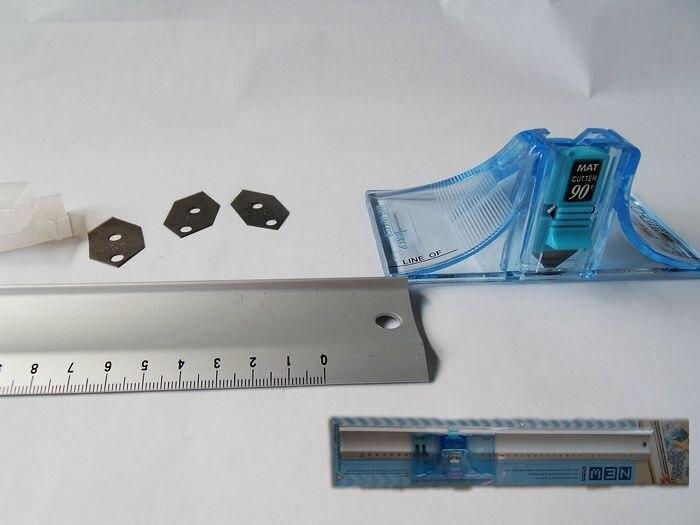 45도 및 90도 각도 DAFA 2071 마운트 커터 MA 40 알루미늄 눈금자 40 cm 골판지, 가죽, 종이 절단-에서재봉 기계 & 액세사리부터 홈 & 가든 의  그룹 1