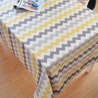 ที่มีคุณภาพสูงผ้าปูโต๊ะสีเหลืองและสี