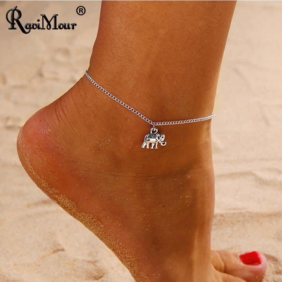 Detail Feedback Questions about RAVIMOUR Animal Elephant Anklets for ... 311254a1f45f