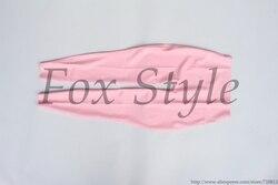 Обтяжку латексные леггинсы для девочек в розовом