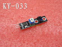 For Arduino Diy KY-033 One Channel 3 pin Tracking Path Tracing Module Intelligent Vehicle Probe Infrared Detection Sensor