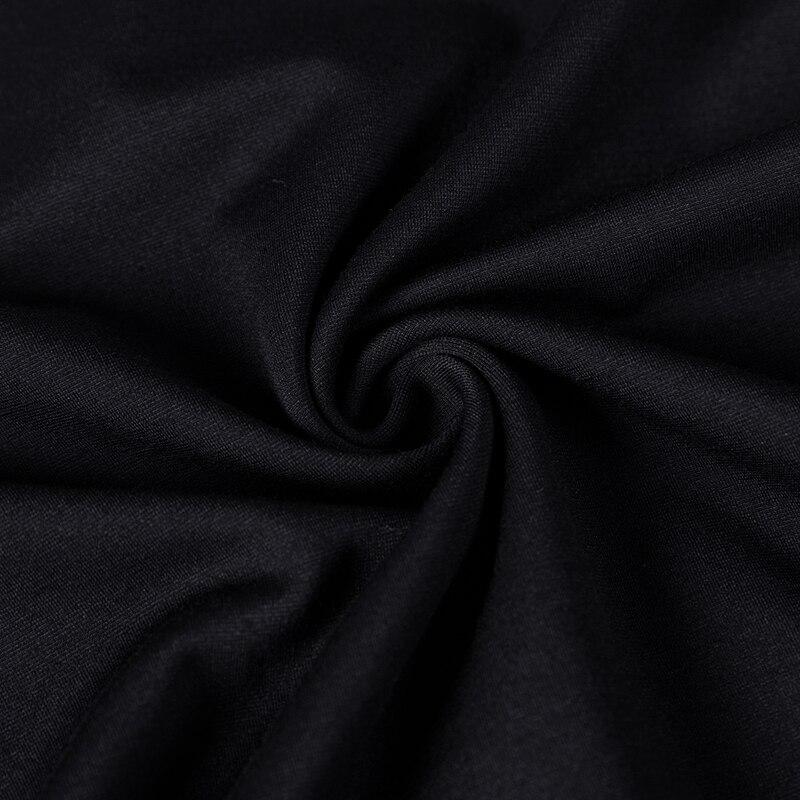 Новые модные повседневные Черные толстовки мужские толстовки с принтом худи для мужчин крутой пуловер толстовки мужские, толстовки Белый с... - 6
