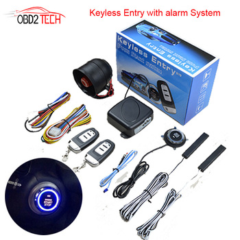 PKE keyless Entry Car One button Start Stop Modification Remote Control Remote Ignition Preheating Refrigeration Car Anti-theft