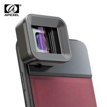 APEXEL HD Anamorphic עדשת 1.33x מסך רחב וידאו סרט נייד טלפון מצלמה עדשת lente עבור Vlog iPhone Huawei סמסונג טלפונים חכמים