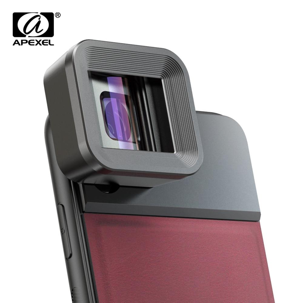 Objectif anamorphique APEXEL HD 1.33x film vidéo grand écran objectif de caméra de téléphone portable lente pour les smartphones Vlog iPhone Huawei Samsung-in Objectif pour téléphone portable from Téléphones portables et télécommunications on AliExpress - 11.11_Double 11_Singles' Day 1