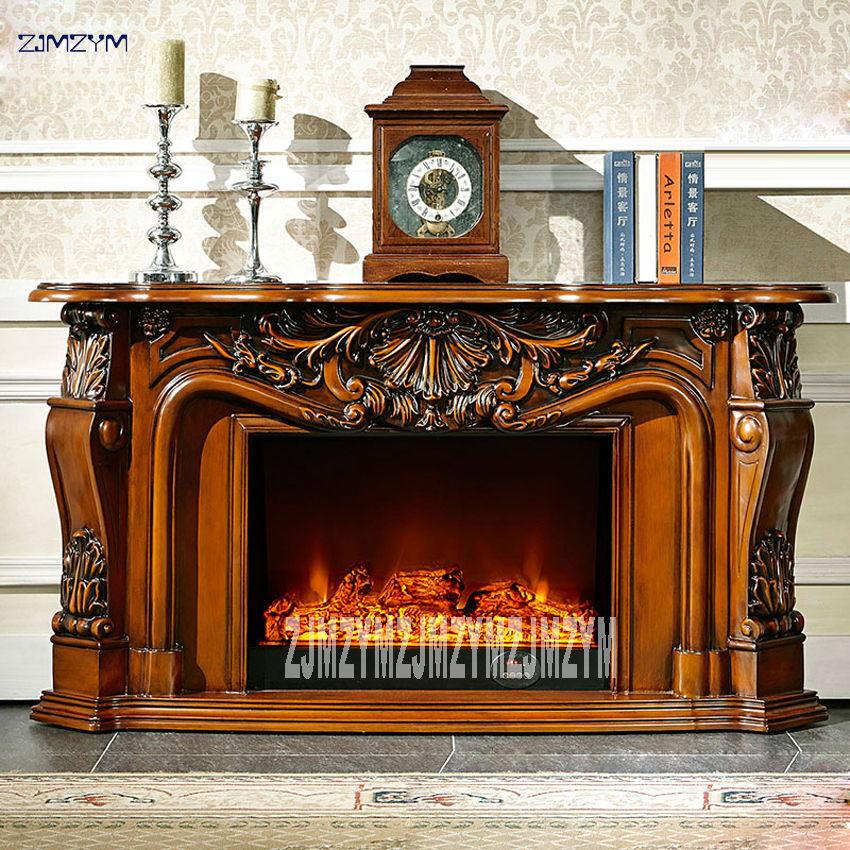 8080 Living Room Decoration Heating Fireplace W148cm Wood