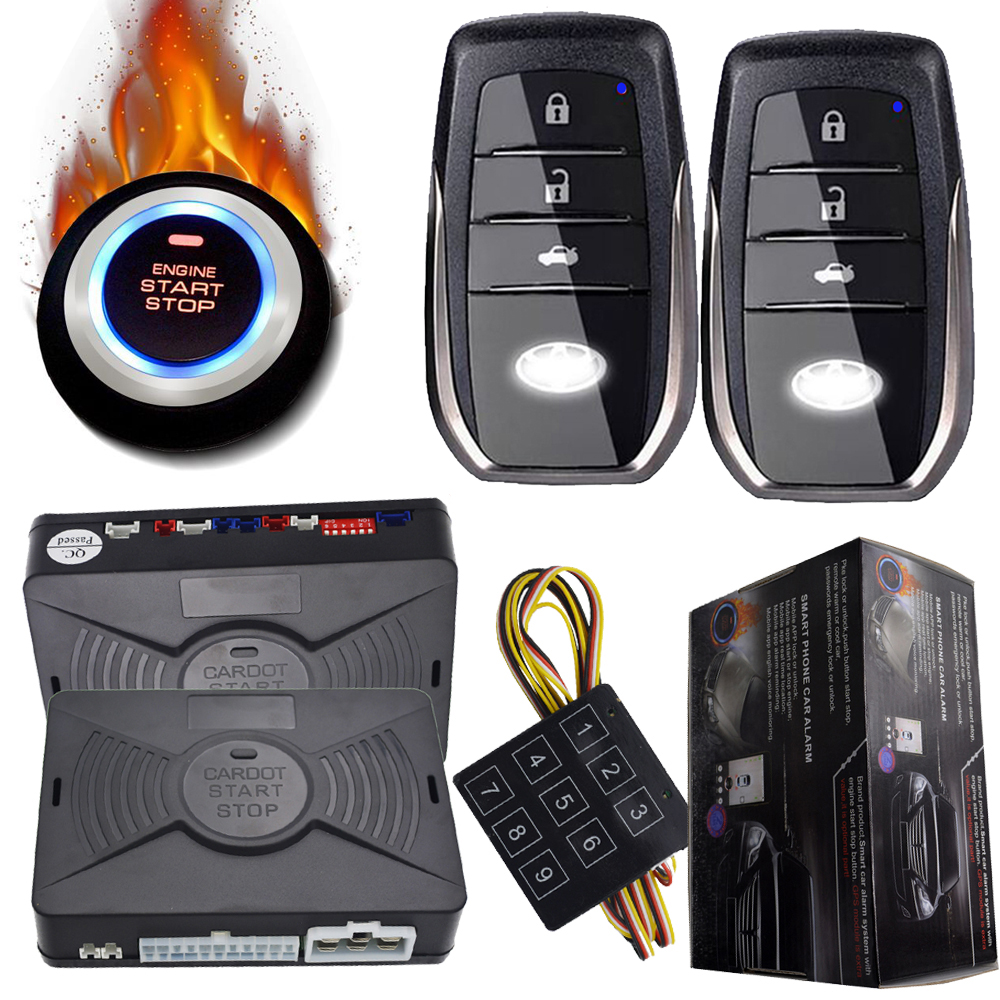 auto security alarm system car with passwords protection ...