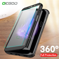 info for b5893 179f2 OICGOO Luxury 360 Degree Full Cover Case For Huawei Honor 8X Max 8 Lite  Phone Cases Coque For Huawei Honor 7A Pro 7C Pro Case