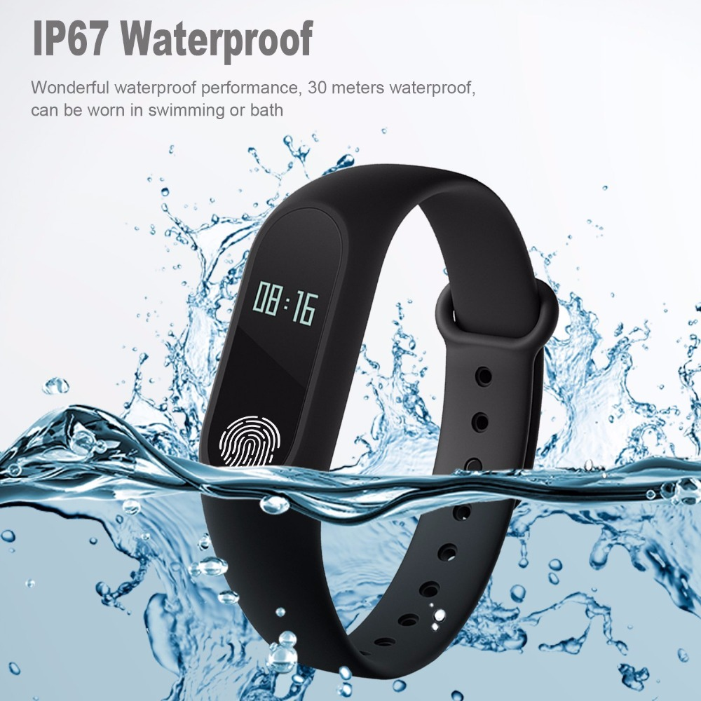 Smart Wristband M2 Smart Bracelet Heart Rate Monitor Pedometer Waterproof Bluetooth For iOS Android For Men Women