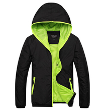 2017 spring autumn new models casual thin coat jacket men hooded jacket Slim male coat tracksuit