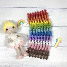 Hand Made Fairy Deur Grote Gift Voor Kid Miniatuur Magic Tand Fairy Deur Succulent Miniascape Accessoire Hout Hek 6 Kleuren