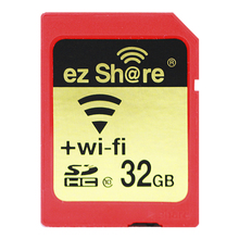 2018 New 100% original Real Capacity Ez Share Wifi Sd Card Sdhc Sdxc Memory Card 16G 32G 64G 128G C10 for Camera free Shipping