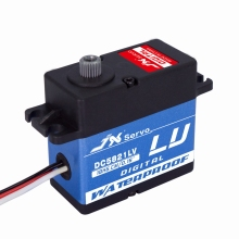 JX DC5821LV 20KG Full waterproof mental gear servo for 1:8 1:10 Scaler Buggy Crawler TRX-4 SCX10 D90 RC car