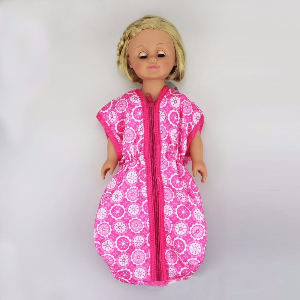 Doll Clothes For 17inch 43cm Baby Doll Accessories And American' Doll Doll Sleeping Bag Mattress Quilt