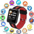 GEJIAN bracelet montre intelligente IP68 étanche Fitness Tracker horloge Smartwatch pour IOS Android bracelet pour le sport homme/femme