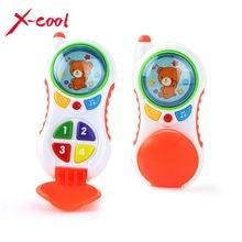 Детские игрушки со звуком и светом/Учебные Детские сотовый телефон игрушки/Ребенок музыкальный телефон Развивающие игрушки