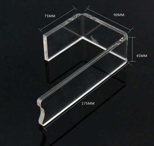 High quality Clear J shape Acrylic Shoe Support Stand Bracket Holder Shoe display Rack Shoes holder цена