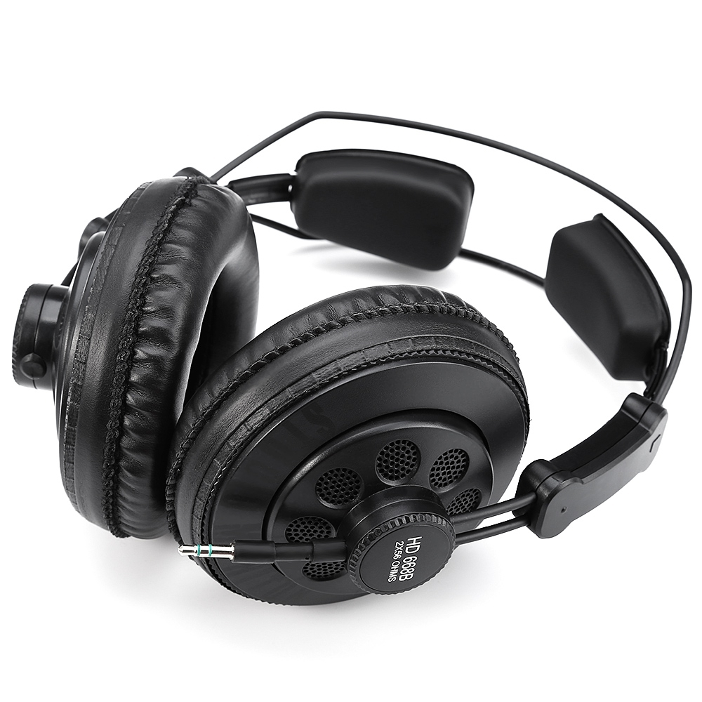 Originale Superlux HD668B Professionnel Semi-ouvert Studio Standard Casque Dynamique Surveillance Pour La Musique Amovible Audio Câble - 2