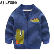 AJLONGER Kids Coat Clothes Fashion Baby Clothing Girls Boys Jackets Autumn Spring Outwear Sport