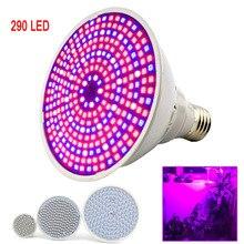 Полноспектральные светодиодные лампы для выращивания растений E27, лампы для выращивания растений, лампы для комнатной гидропоники, комнатный культиватор, растительный цветок, теплица