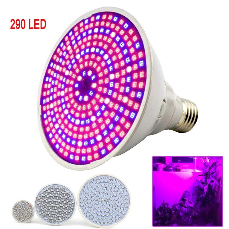 200 LED E27 Plant Grow Light lamp Bulb indoor flower Growing for Hydro veg seeds