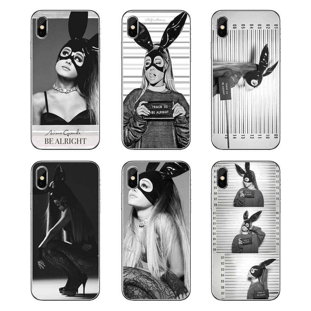 Half-wrapped Case Amiable Soft Transparent Shell Covers Ariana Grande Be Alright Art For Huawei P20 Lite Nova 2i 3i 3 Gr3 Y6 Pro Y7 Y8 Y9 Prime 2018 2019 Phone Bags & Cases