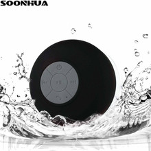 k8 15w wireless bluetooth microphone with speaker SOONHUA Mini Portable Subwoofer Shower Speaker Suction Cup Wireless Waterproof Bluetooth Loudspeaker With Handsfree Microphone