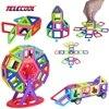 Mini 102pcs Set 3D Magnetic Models Building Blocks JOY MAGS Brand Enlighten Educational Designer Toys For