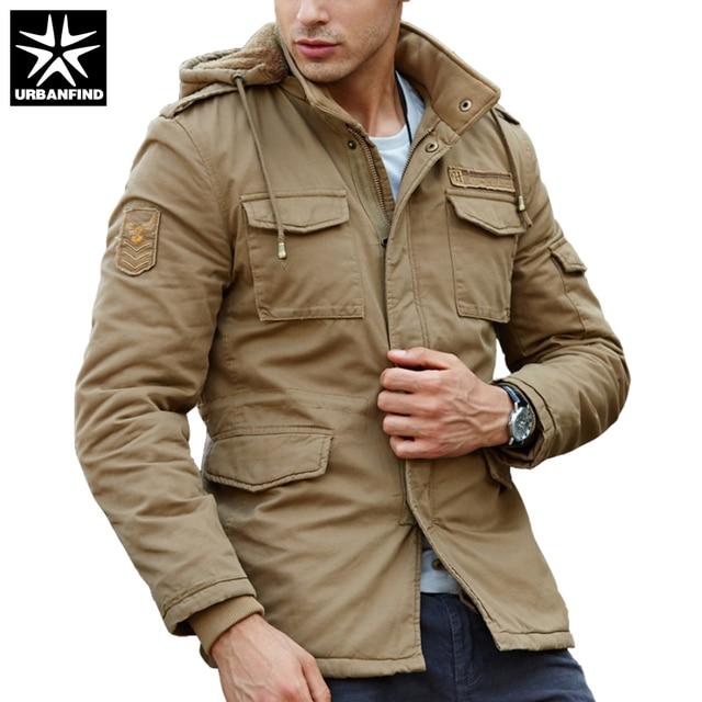 f144303d1ce URBANFIND New Fashion Men Spring Jacket Large Size M-4XL Hooded Style Man Thin  Coats Spring Autumn Men Windbreaker