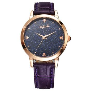 гражданские кожаные часы   Женские часы из натуральной кожи кварцевые Disney бренд Микки Маус женские наручные часы женские часы водонепроницаемые Citizen Movement