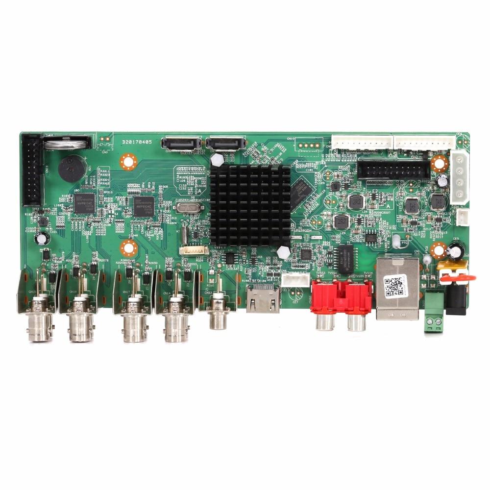 Image 4 - AZISHN HD H.264+/H.264 AHD DVR 8CH 4MP Security CCTV  TVI CVI AHD XVI Analog IP Hybrid VGA HDMI CCTV Video Recorder Main Borad-in Surveillance Video Recorder from Security & Protection