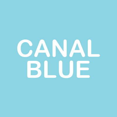 canal blue