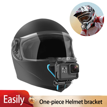 Motorcycle Helmet Chin Stand Mount Holder for GoPro Hero 7 6 5 4 3 Xiaomi Yi Action Sports Camera Full Face Holder Accessory цена