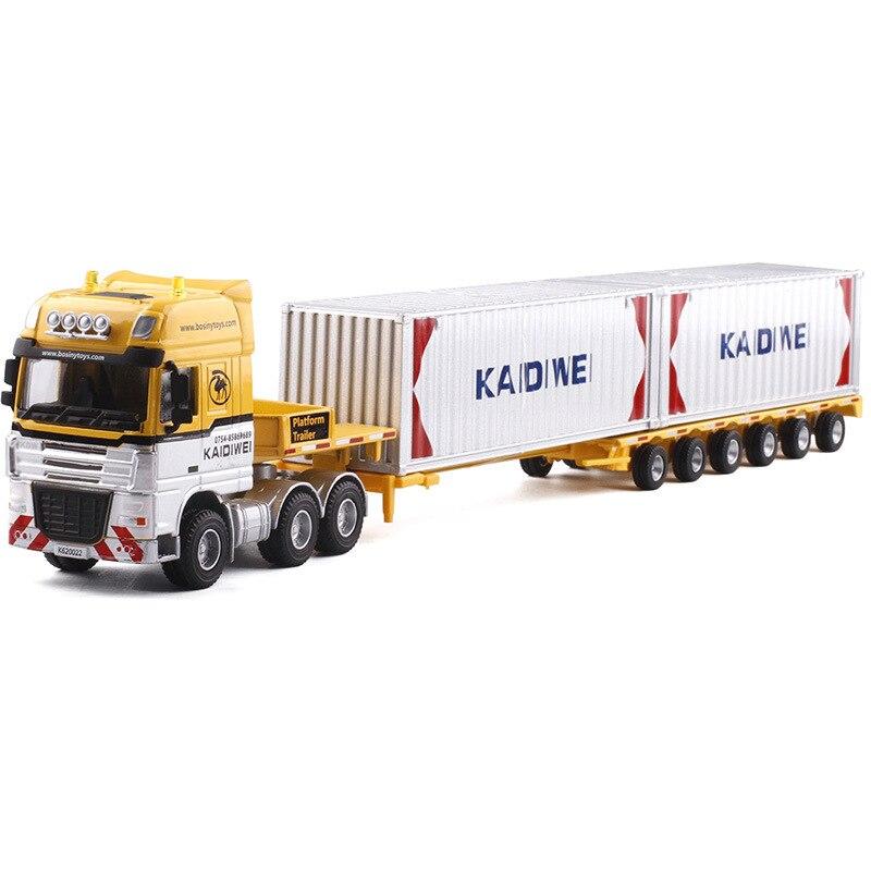 KAIDIWEI 1:50 modèle de transporteur en alliage voiture de Transport lourd jouet pour enfants 625022