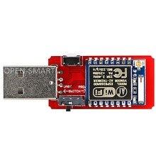 Открытый Смарт USB к ESP8266 ESP-07 модуль Wi-Fi Встроенная антенна 2,4G последовательный приемопередатчик для ESP-07 отладки прошивки программирования