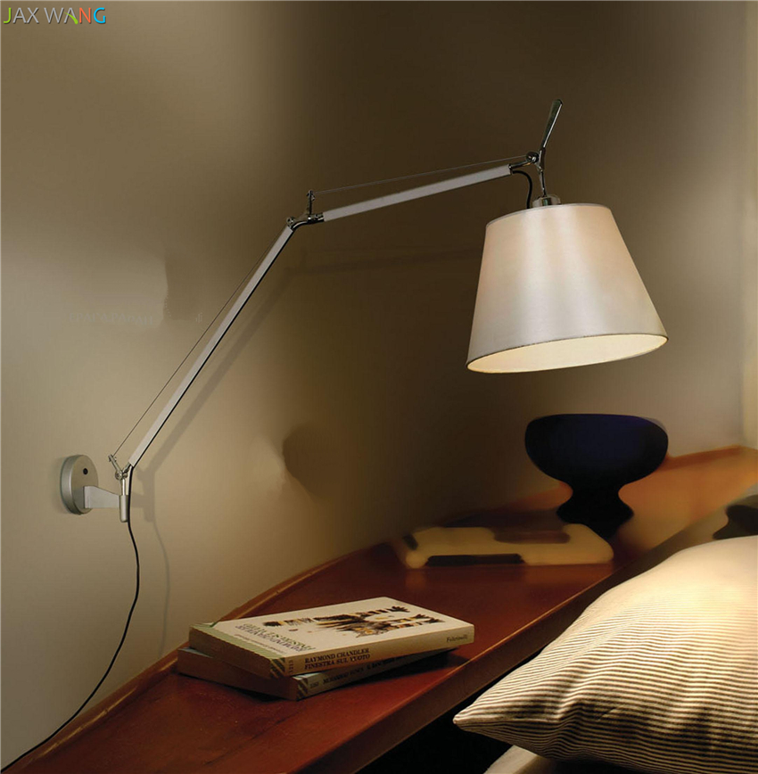 Modern Minimalist Style Adjustable Wall Lamps Lights Bathroom Bedroom Light Led Wall Lights For Home Industrial Decor Lamp